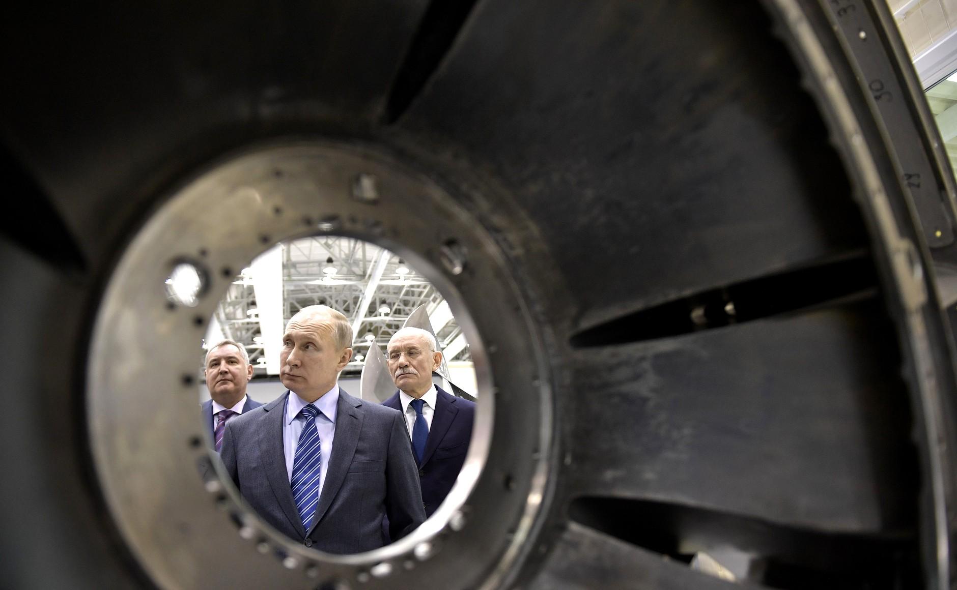 Владимир Путин заявил о принятии Государственной программы вооружений на 2018–2027 годы