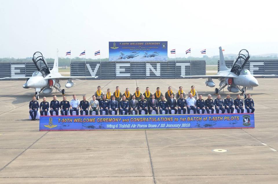 Два первых самолета Т-50ТН все-таки добрались до Таиланда