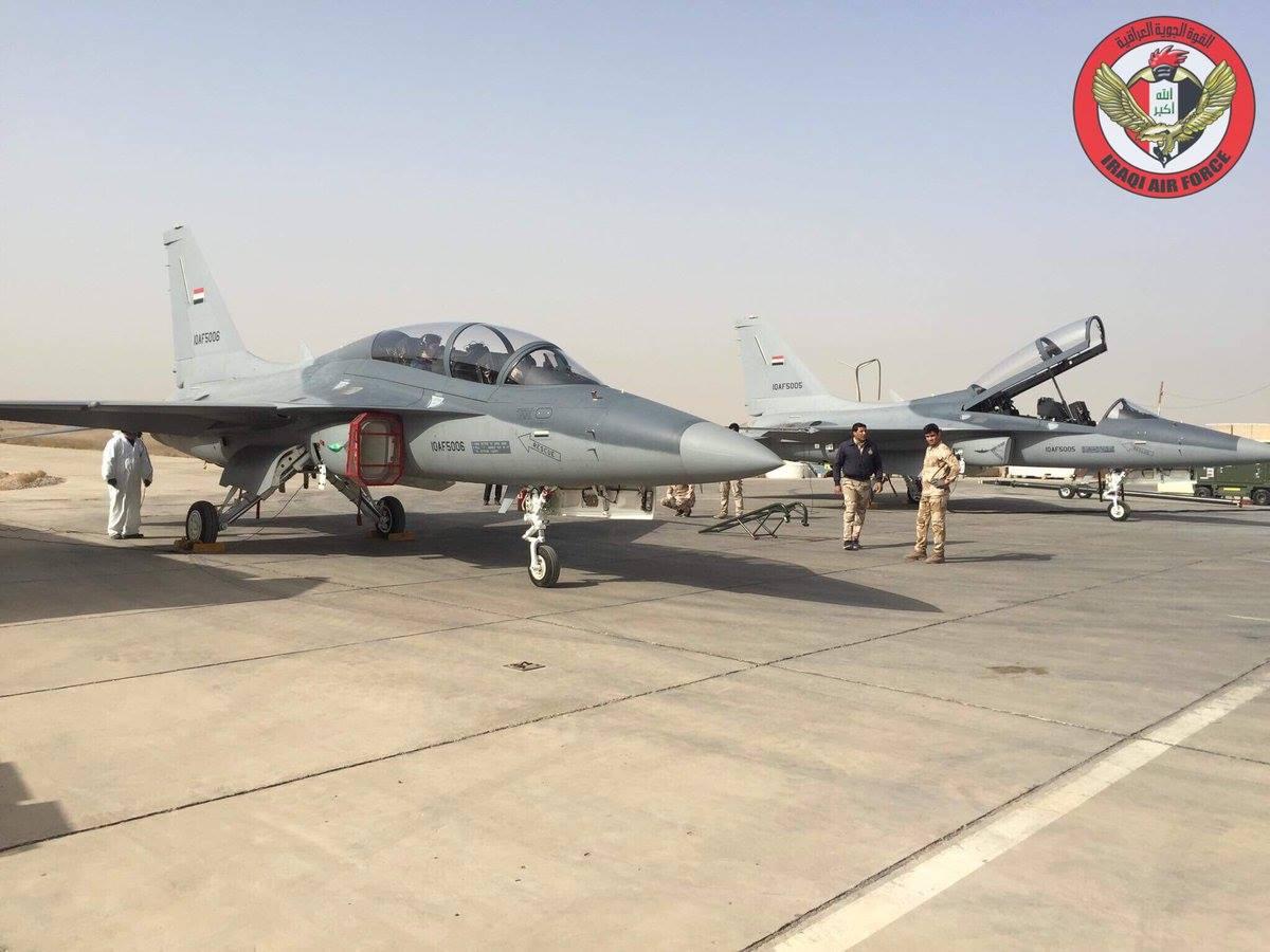 ВВС Ирака получили первые шесть учебно-боевых самолетов T-50IQ