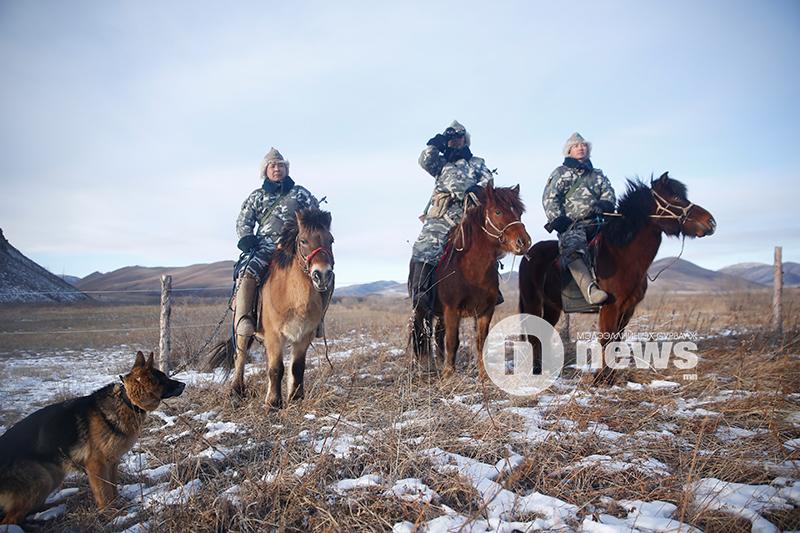 """Форменный головной убор """"Будёновка"""" военнослужащих пограничных войск Монголии"""