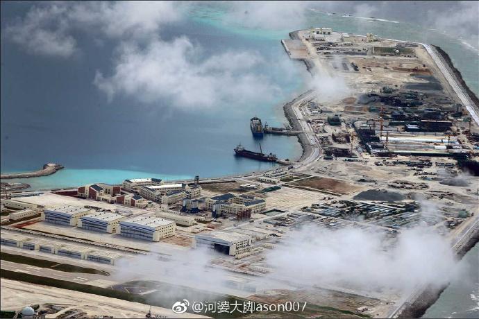Военная инфраструктура КНР на архипелаге Спратли в Южно-Китайском море: июнь-декабрь 2017 года