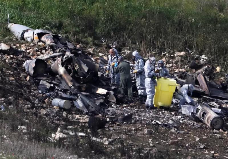 F-16I-crash