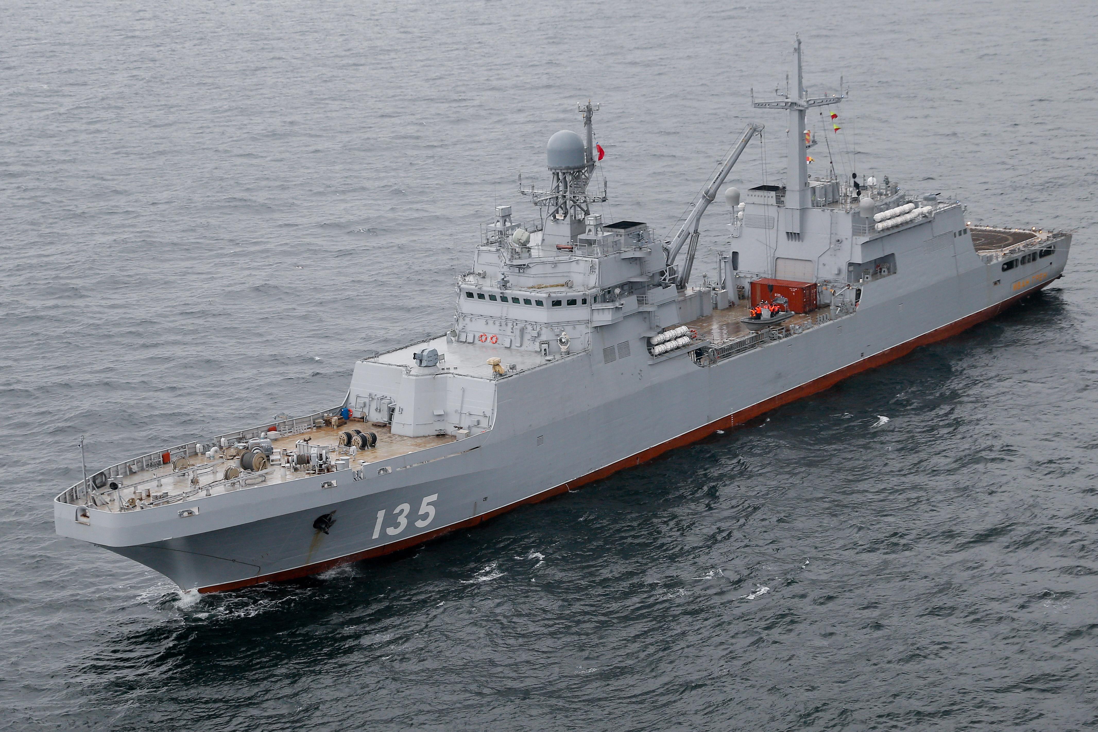На больших десантных кораблях проекта 11711 двигатели поменяют местами