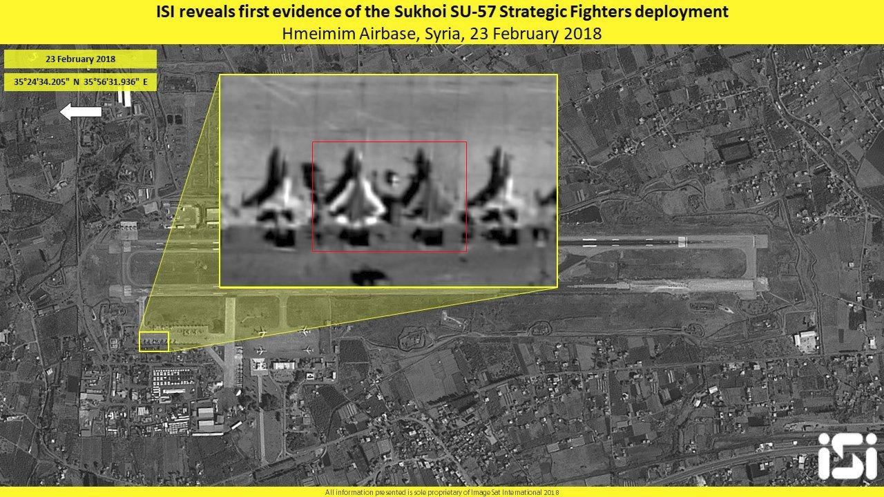 Два опытных образца ПАК ФА успешно выполнили двухдневную программу испытаний в Сирии