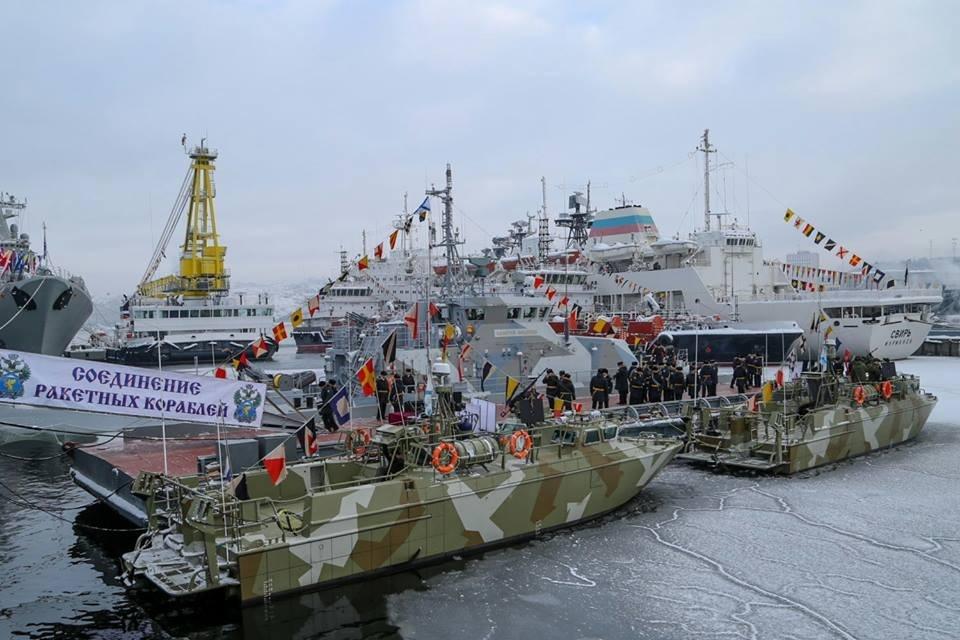 Северный флот получил два катера типа БК-16