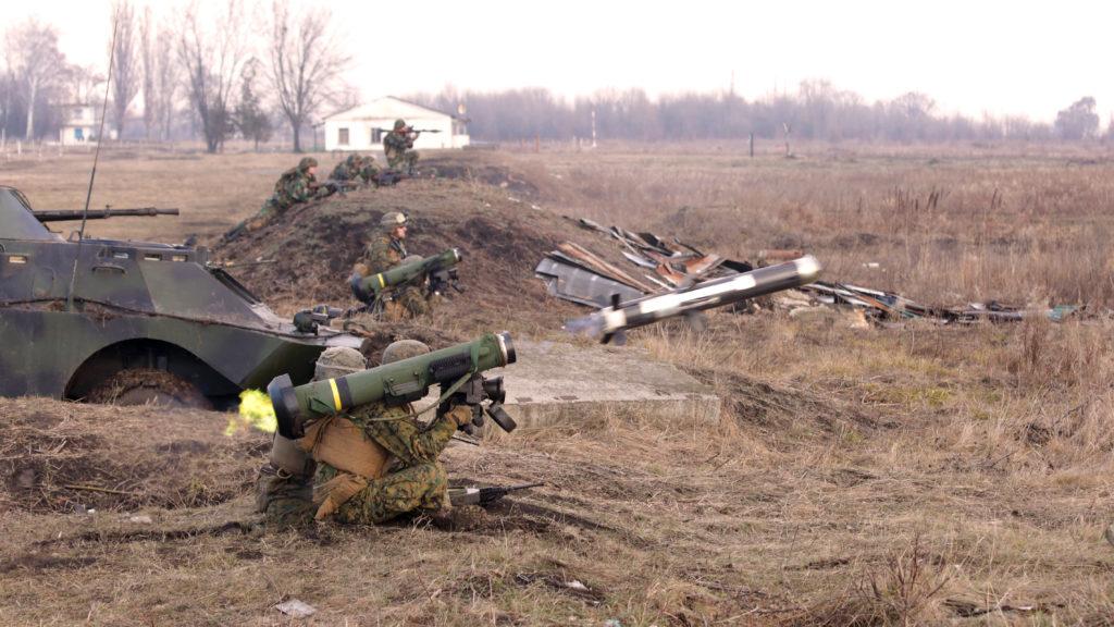 Уведомление о предстоящей поставке Украине первых противотанковых ракетных комплексов Javelin