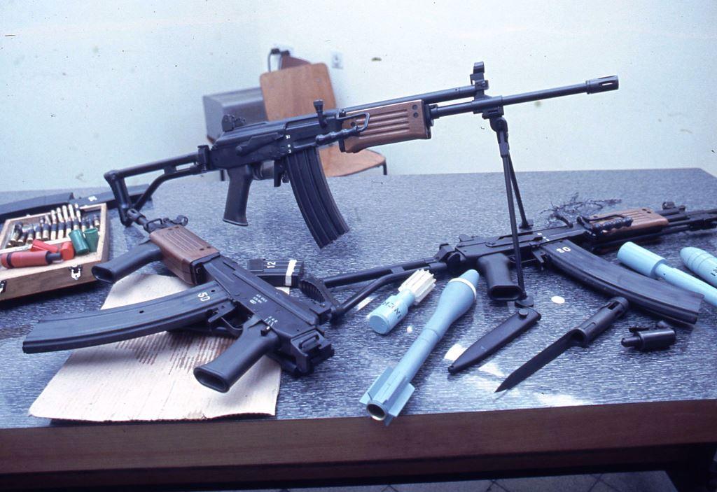 История израильской винтовки Galil