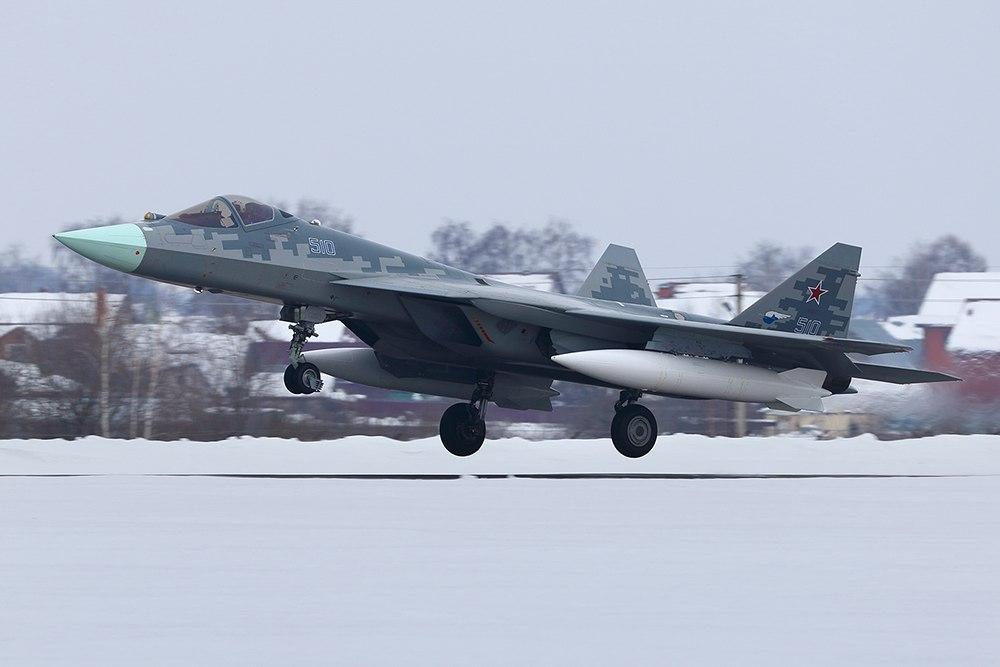 Последний опытный образец ПАК ФА совершил перелет из Комсомольска-на-Амуре в ff757a53b06ab7d416bc36e6e32d39f2