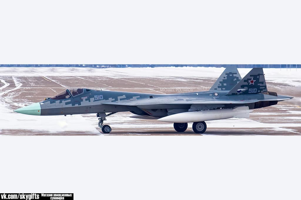 Последний опытный образец ПАК ФА совершил перелет из Комсомольска-на-Амуре в 28157954_191823861415595_4990440509743824896_n
