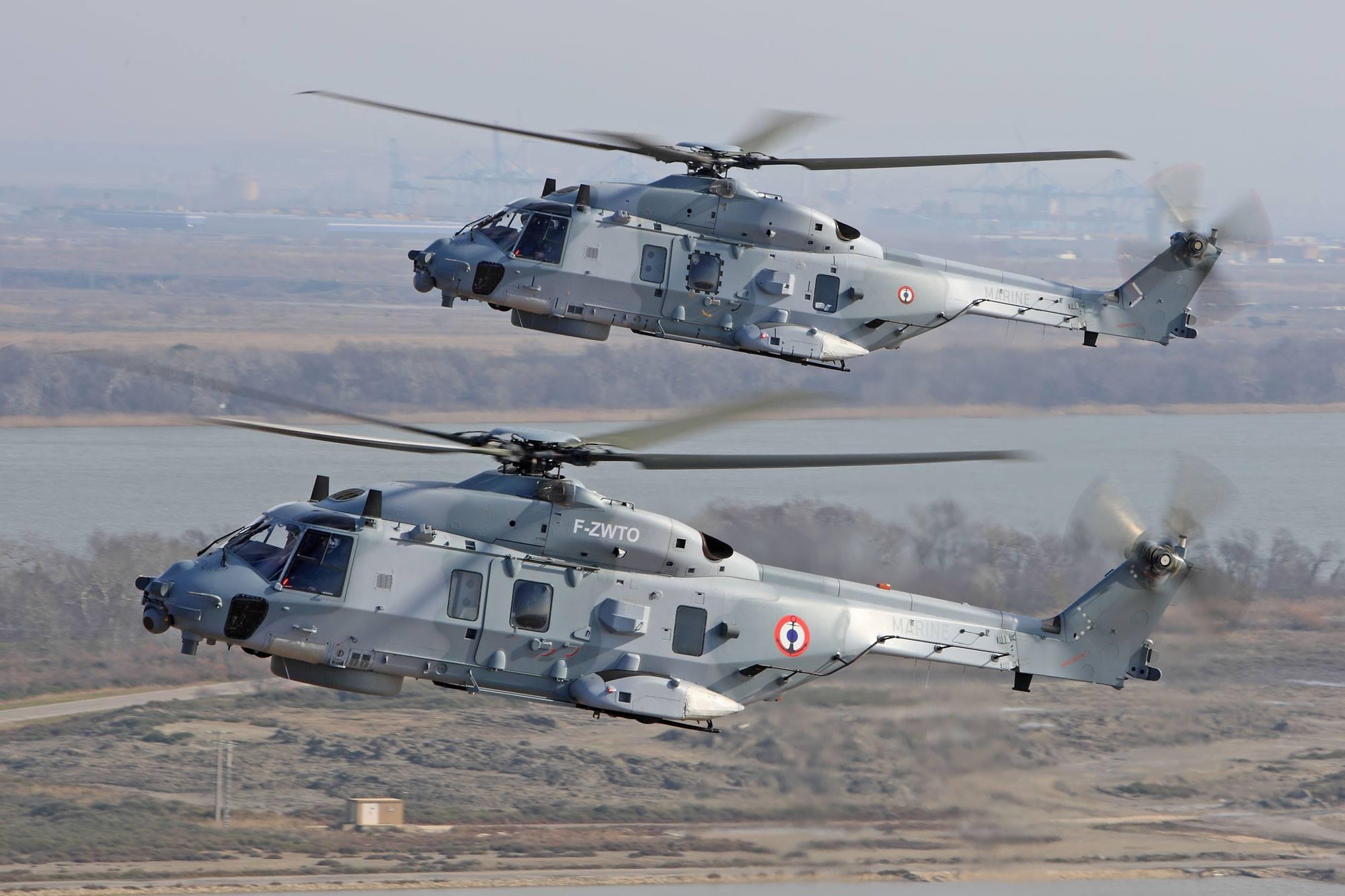 Катар закупает 28 вертолетов NH90