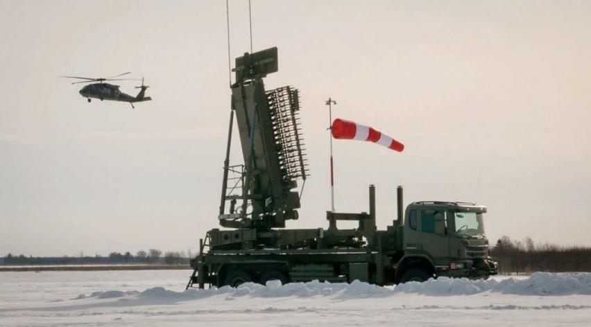 Латвия получила первую американскую радиолокационную станцию TPS-77 MRR
