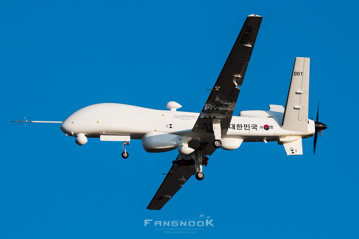 Южнокорейский беспилотный летательный аппарат большой дальности