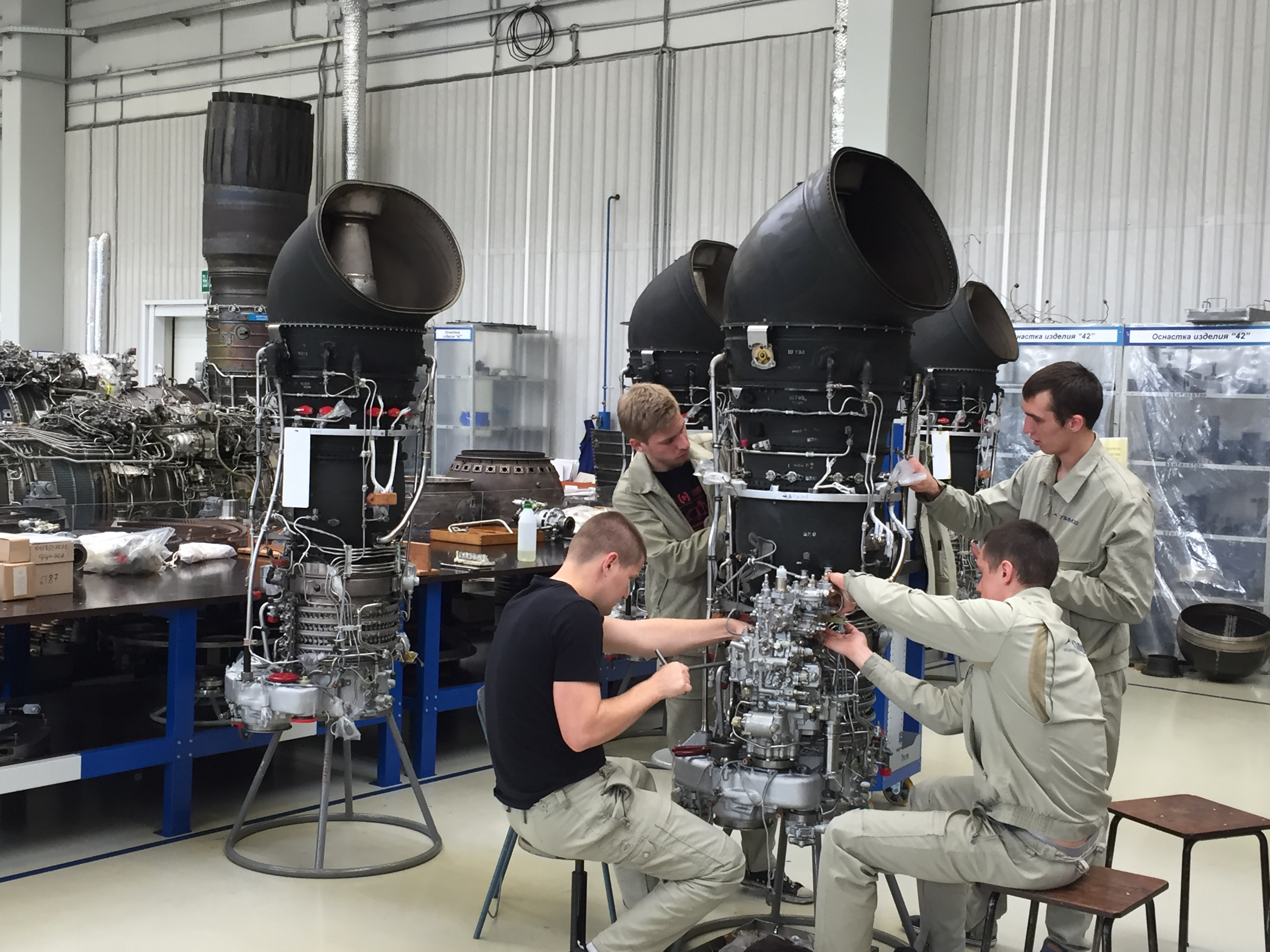 In the museum JSC ODK-Perm engines 72