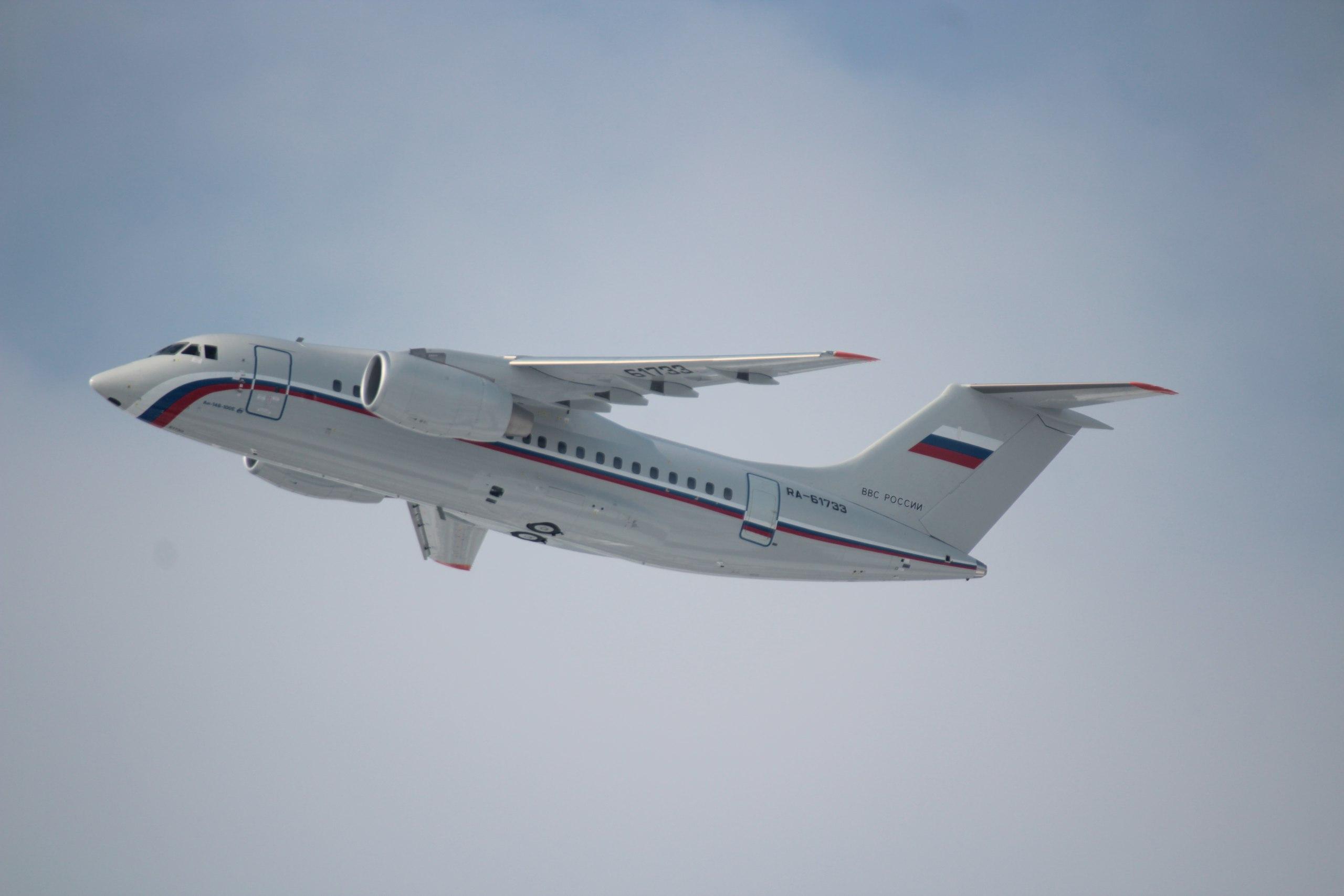 Тринадцатый Ан-148 для Министерства обороны России