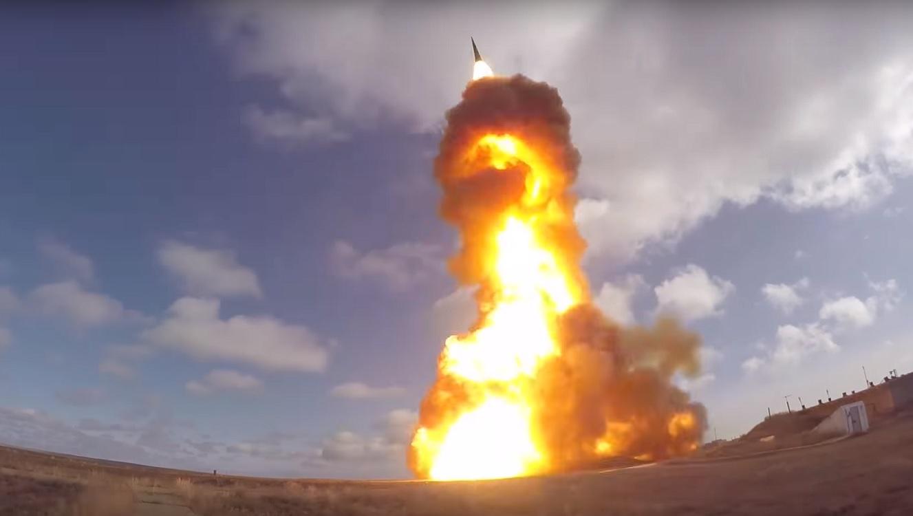 Третий испытательный пуск новой противоракеты ПРС-1М в Сары-Шагане