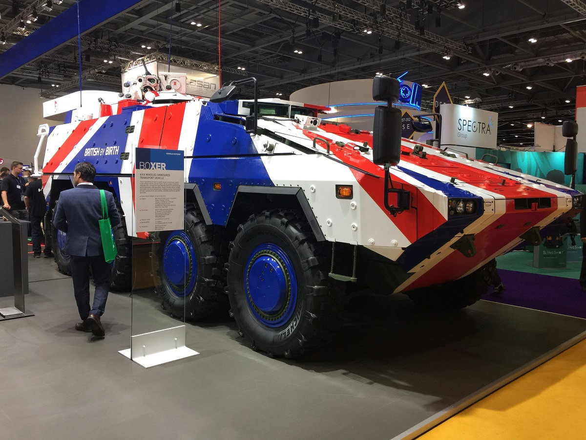 Великобритания вновь присоединяется к программе бронетранспортера Boxer