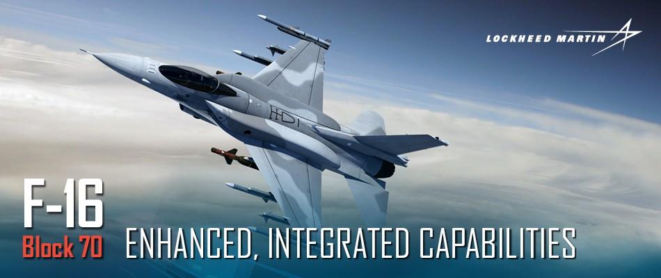 США предлагают Словакии поставку 14 истребителей F-16V Block70/72