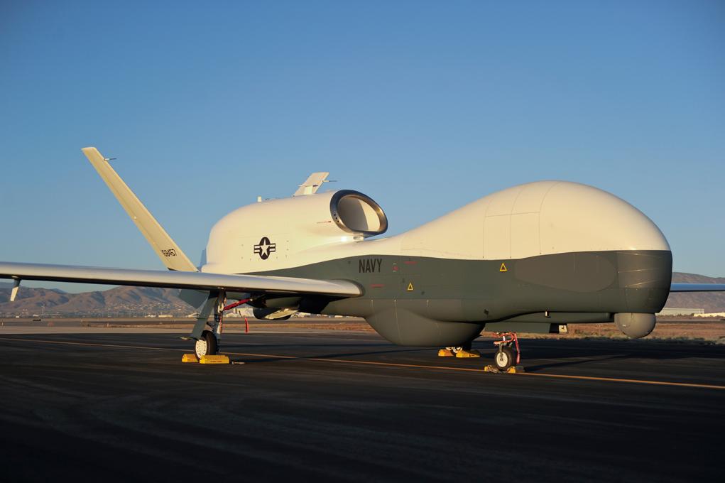 Планируемая поставка Германии четырех больших беспилотных летательных аппаратов MQ-4C Triton