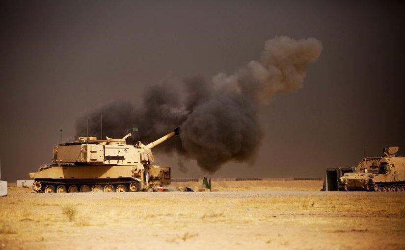 Программа поставки Саудовской Аравии 155-мм самоходных гаубиц М109А6 Paladin