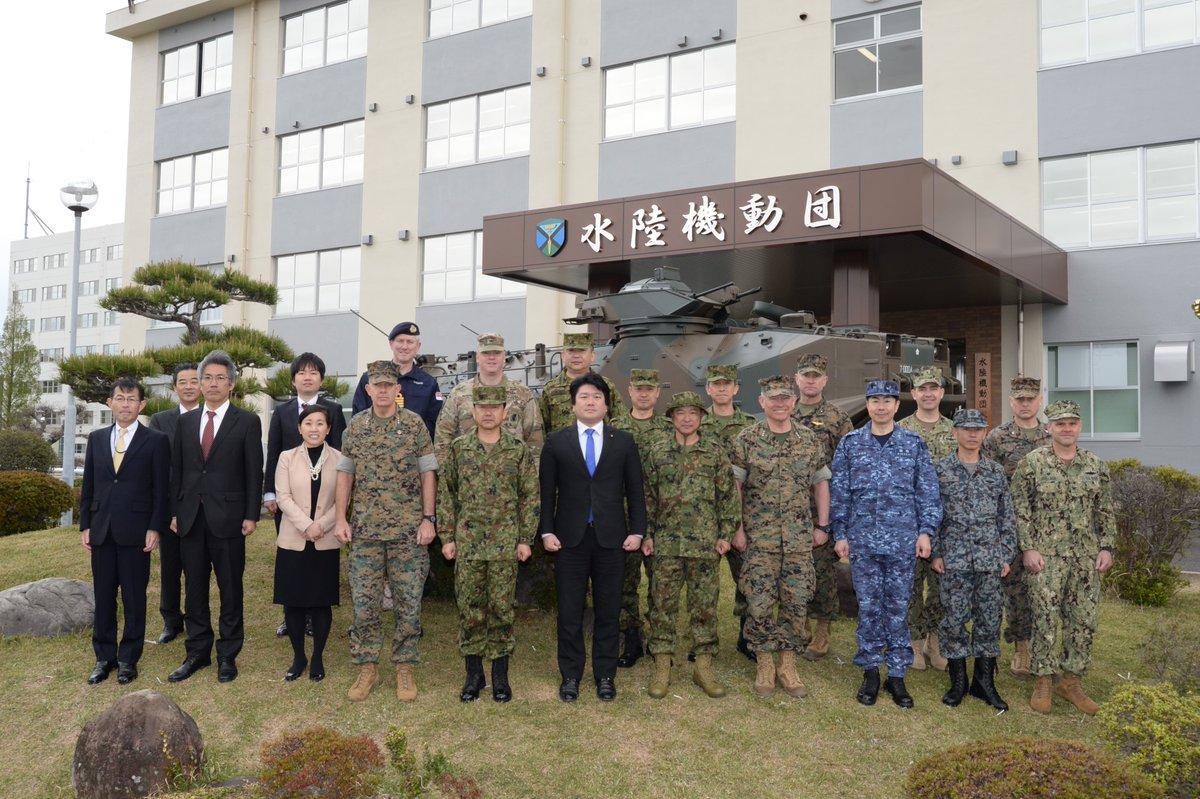 В Японии сформирована амфибийная бригада быстрого развертывания