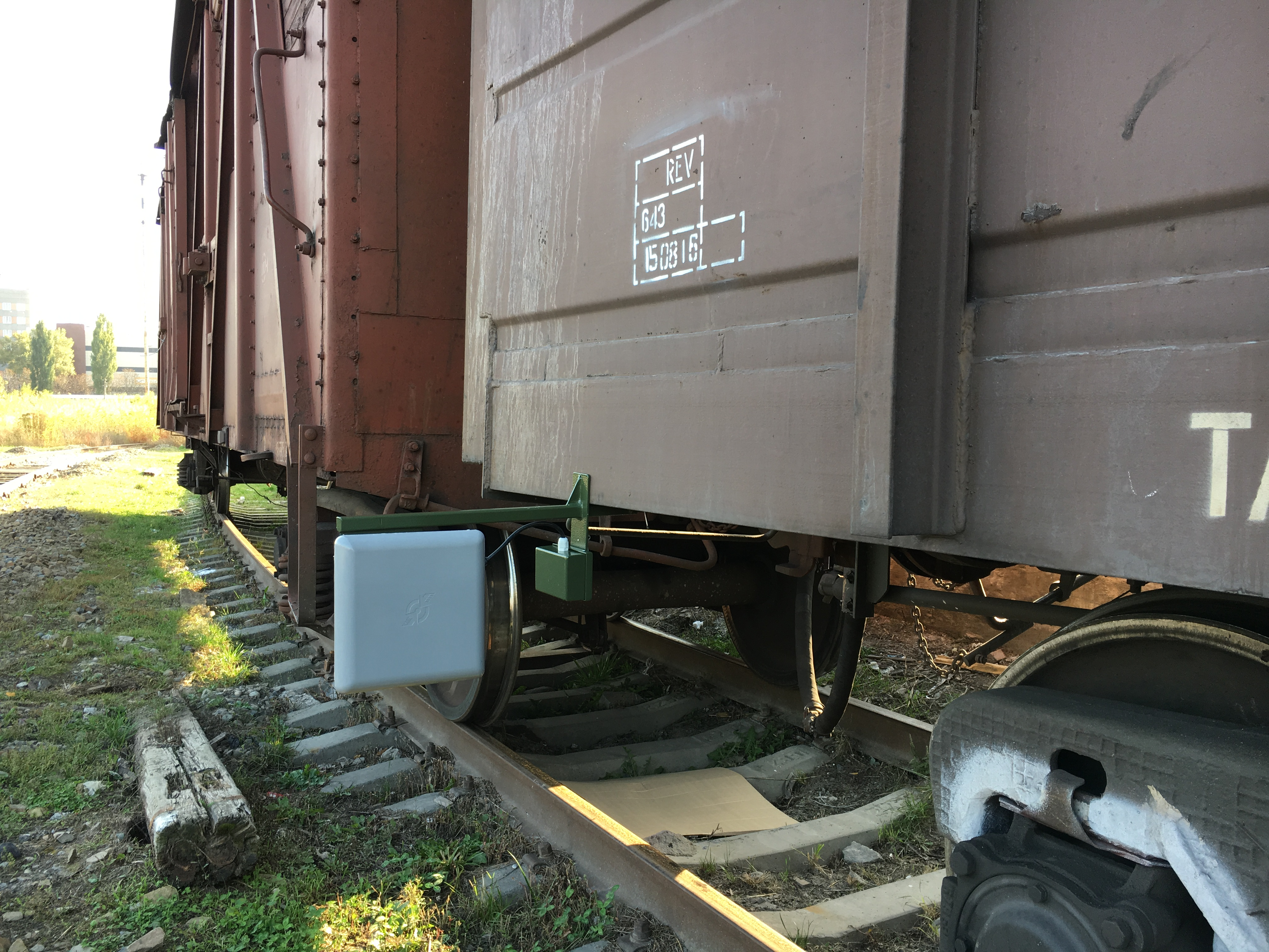 Комплекс Мангус 2С для поездов