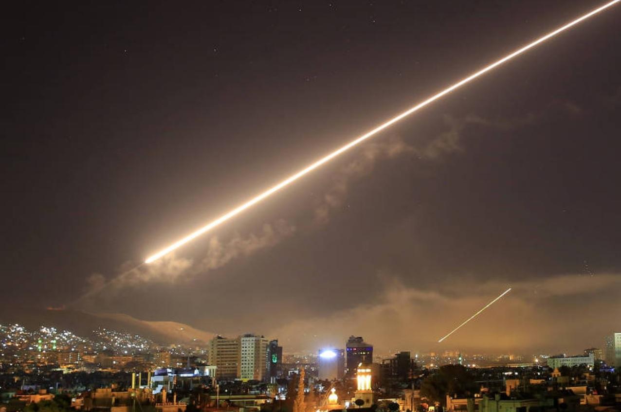 Западный военный удар по Сирии