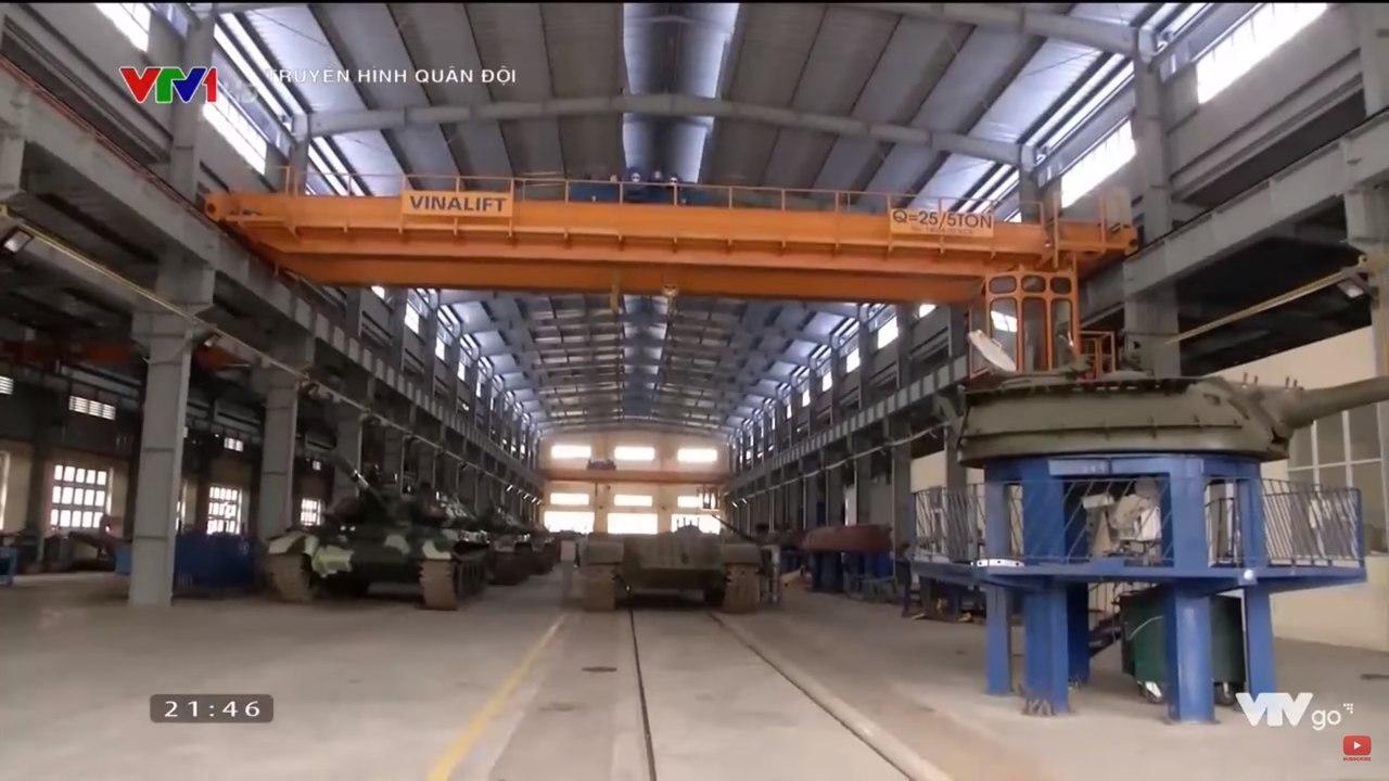 Модернизация танков Т-54/55 во Вьетнаме