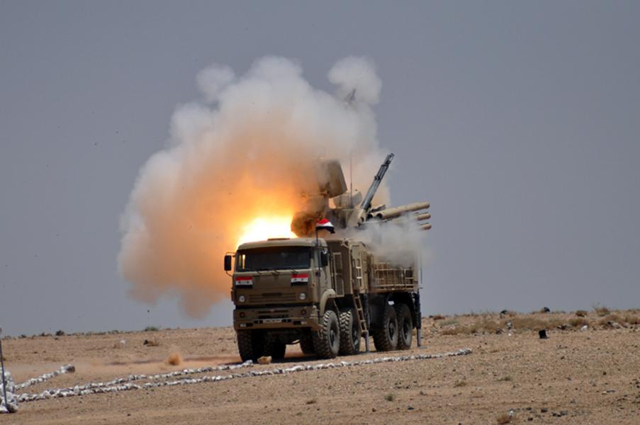 Официальные заявления Министерства обороны России о действиях ПВО Сирии
