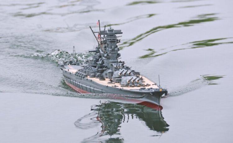 На предприятии Graupner по производству радиоуправляемых моделей кораблей в Китае