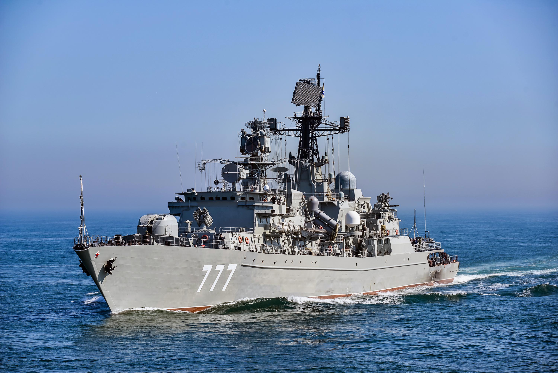 """Сторожевой корабль """"Ярослав Мудрый"""" прошел пролив Ла-Манш"""