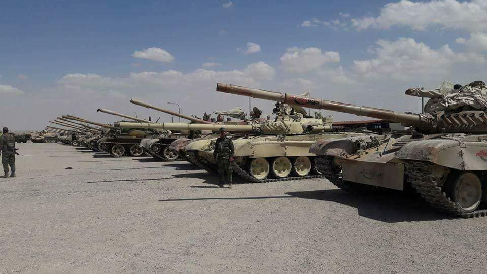 Трофеи сирийской армии в Восточном Каламуне