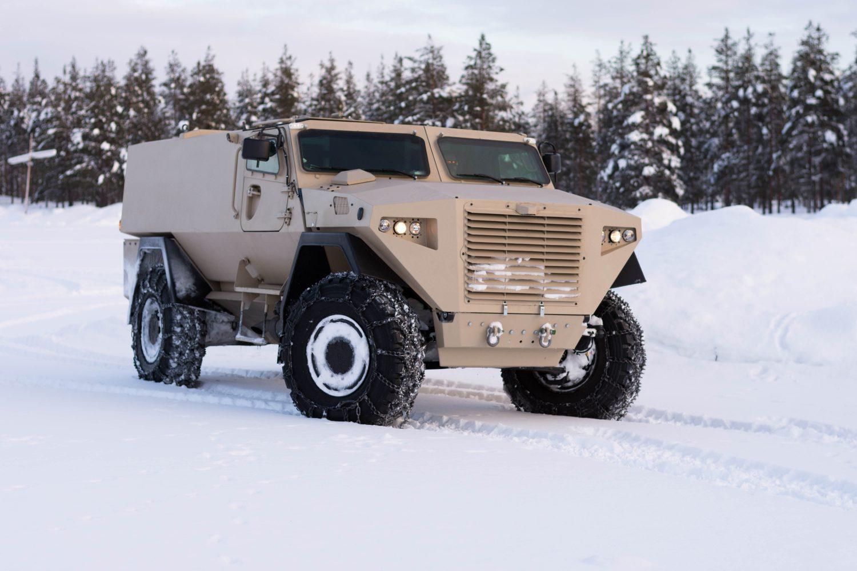 Еще одна финская бронированная машина типа MRAP - SISU GTP