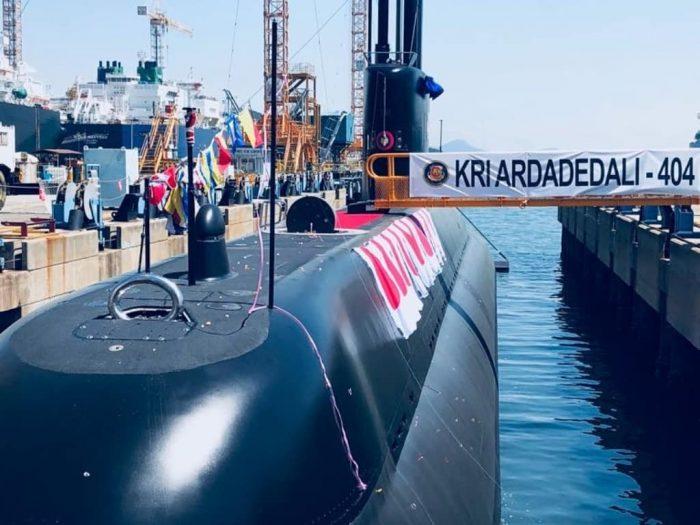 Индонезия получила вторую подводную лодку южнокорейской постройки