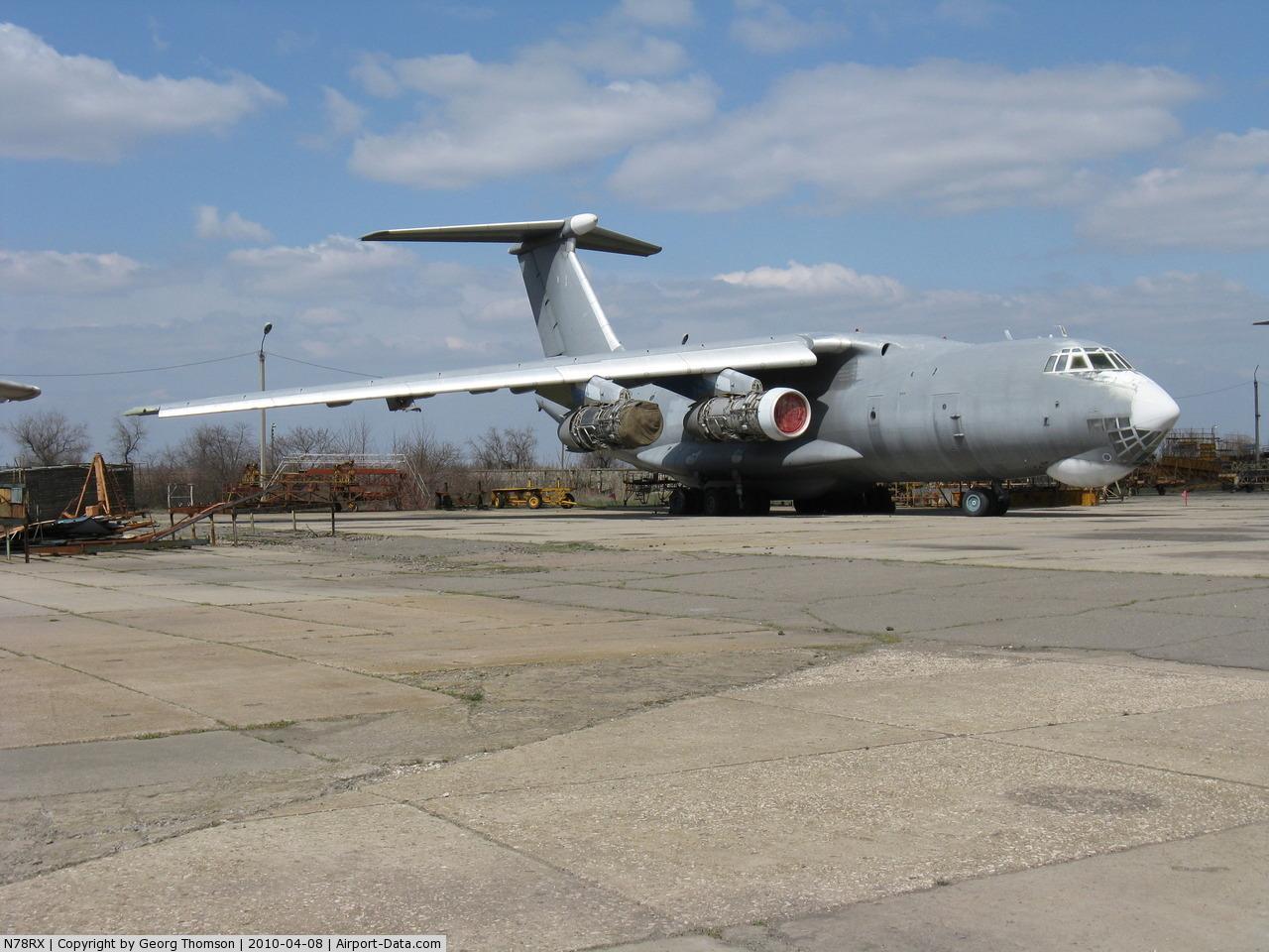Николаевский авиаремонтный завод пытается отсудить один из проданных в США самолетов Ил-78