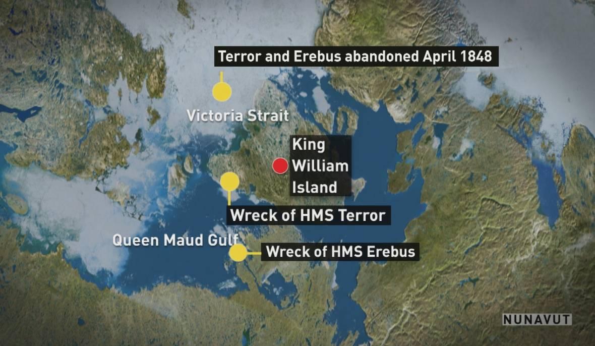 erebus-and-terror-wrecks-found-map
