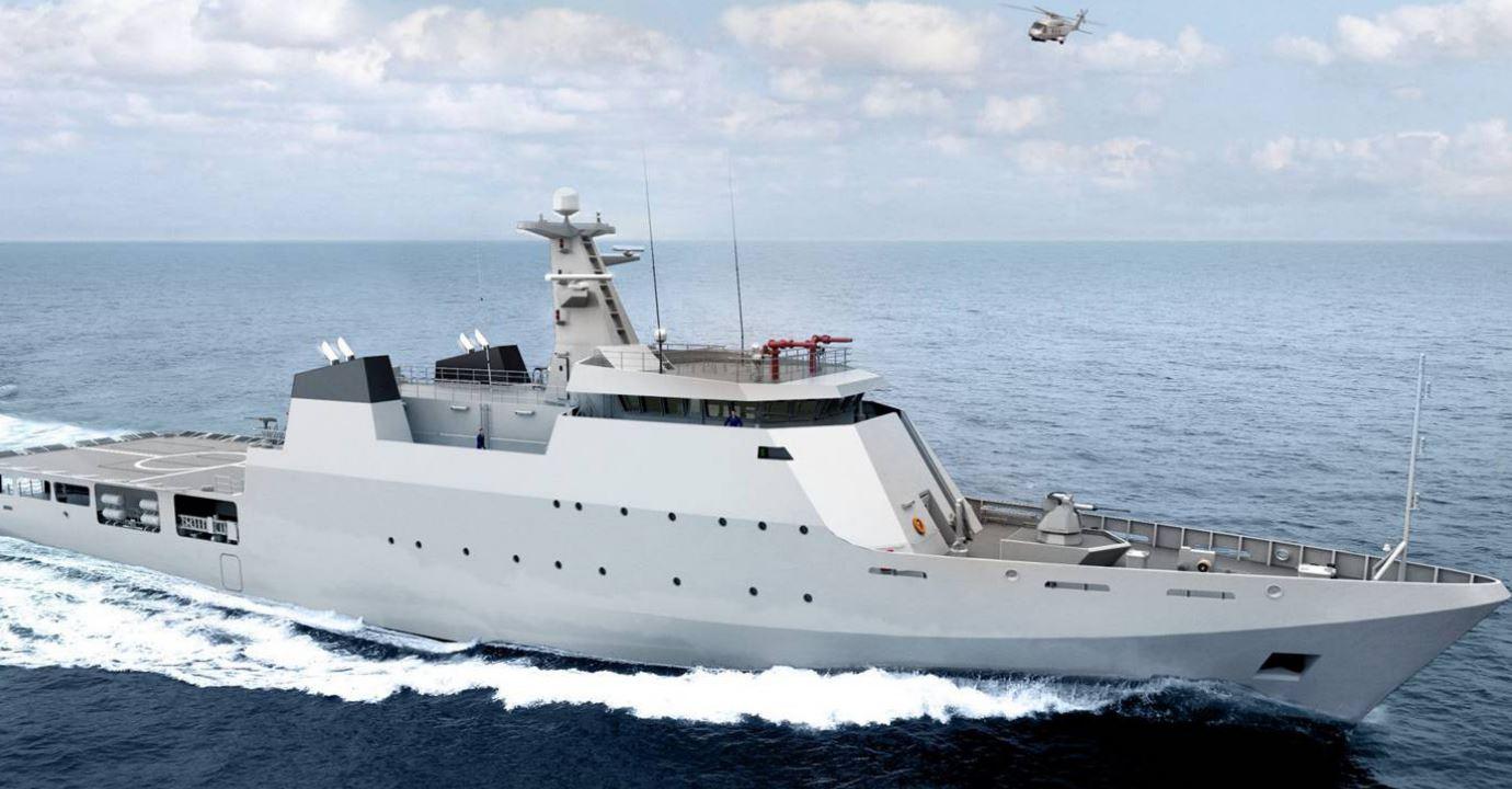 В Румынии строятся патрульные корабли для Пакистана