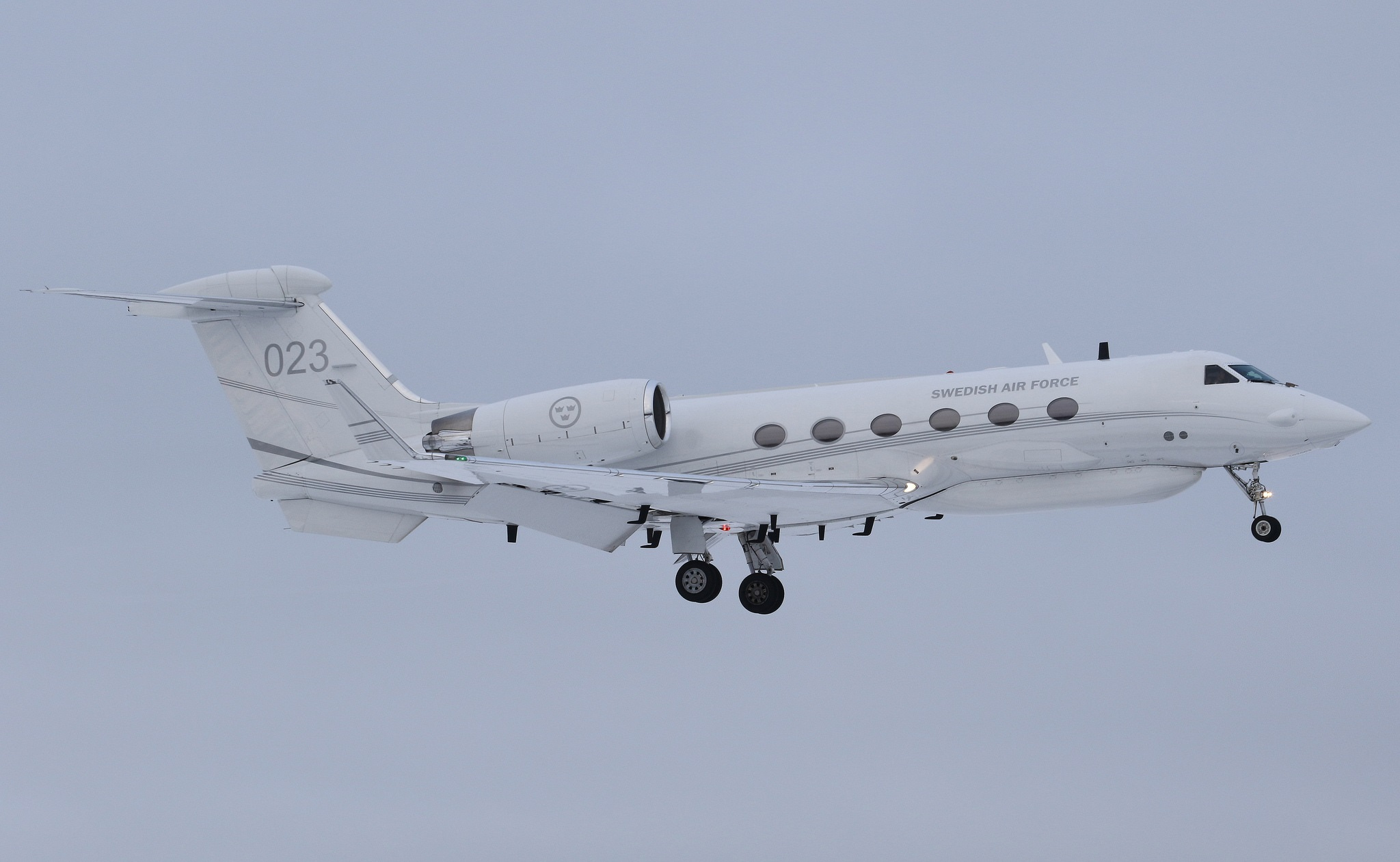 Шведский разведывательный самолет ведет разведку российских военных объектов в Сирии