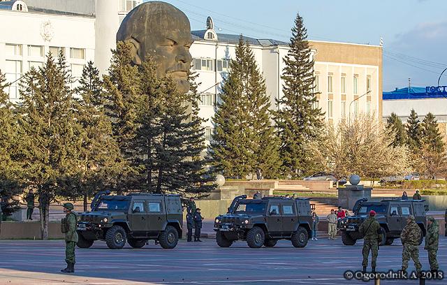 Репетиция Парада Победы в Улан-Удэ