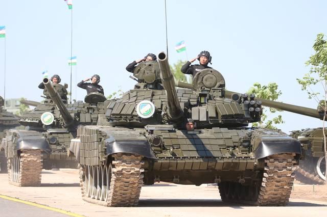 Танковый биатлон в Узбекистане
