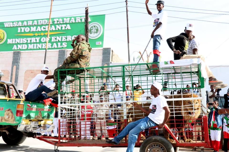 Парад в честь 27-летия независимости Сомалиленда