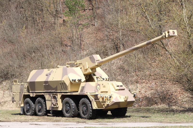 Армия Словакии заказывает 25 самоходных гаубиц Zuzana 2