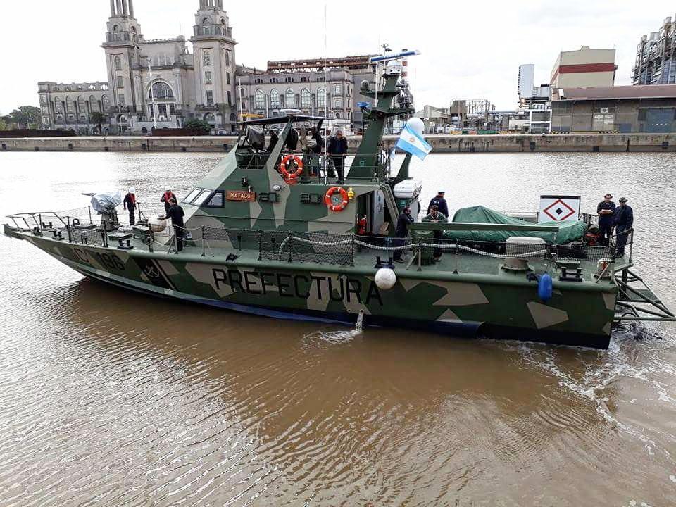Береговая охрана Аргентины получила первые два израильских катера типа Shaldag Mk II