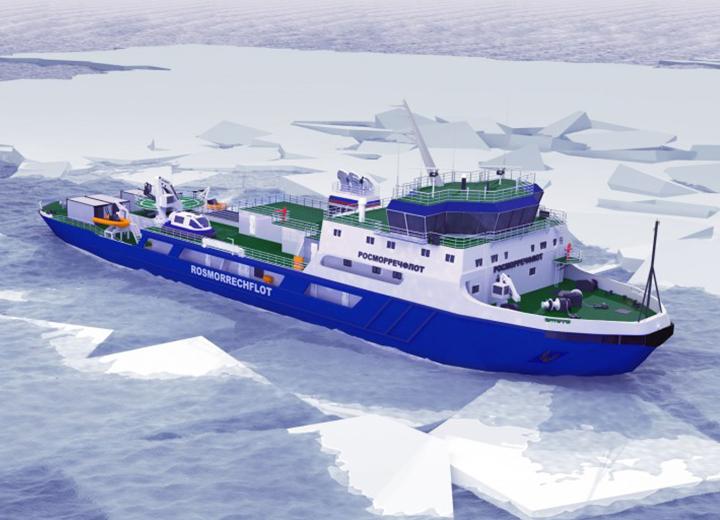 «Росморпорт» заказал ледокол судостроительному комплексу «Звезда»