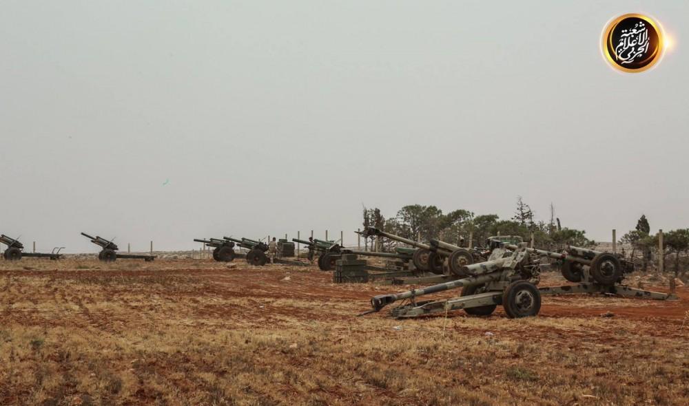 Войска ливийского фельдмаршала Хафтара около Дерны