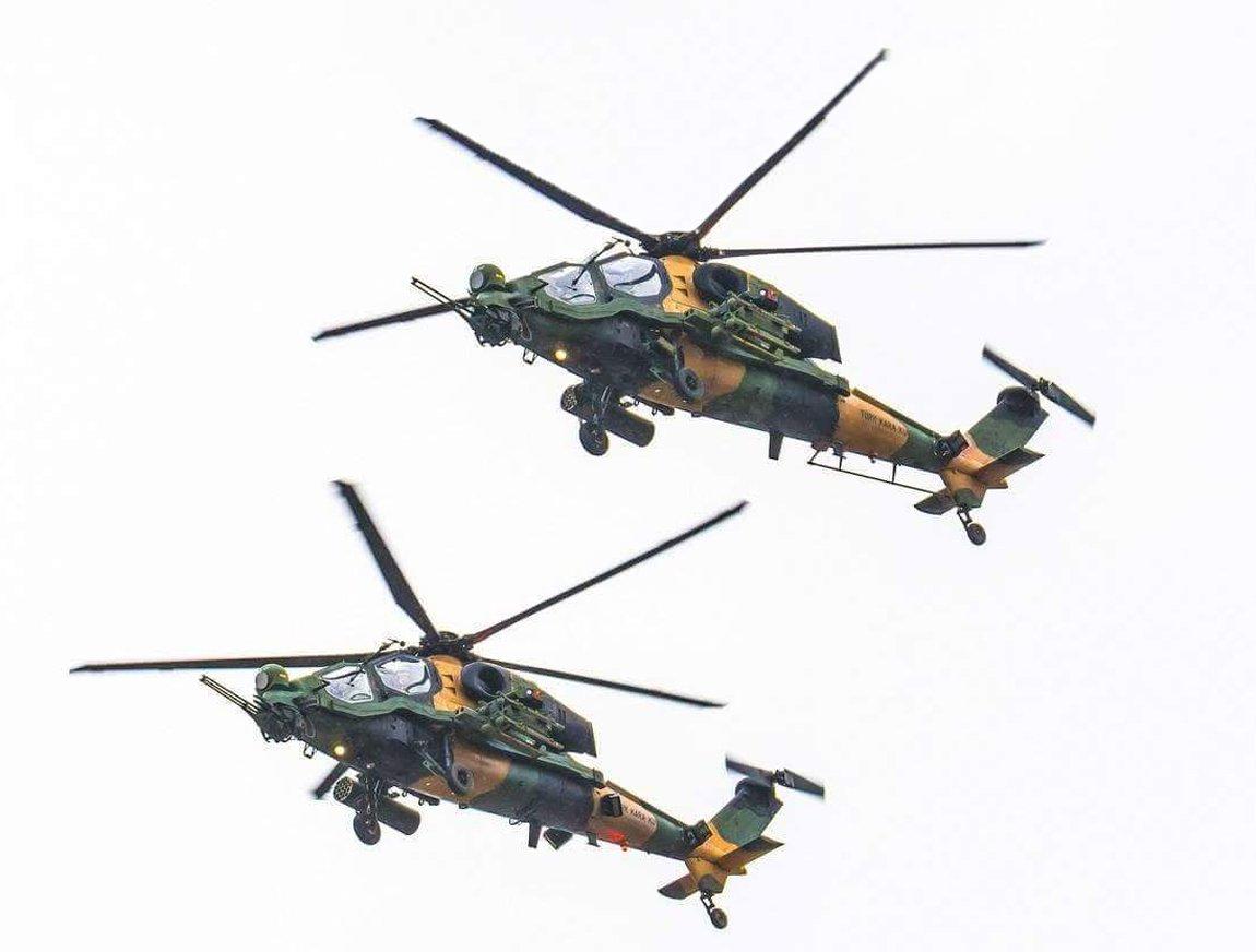 Пакистан приобретает 30 турецких боевых вертолетов Т129