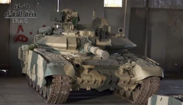 Иракская 35-я бригада 9-й дивизии перевооружена с танков М1А1М Abrams на танки Т-90С