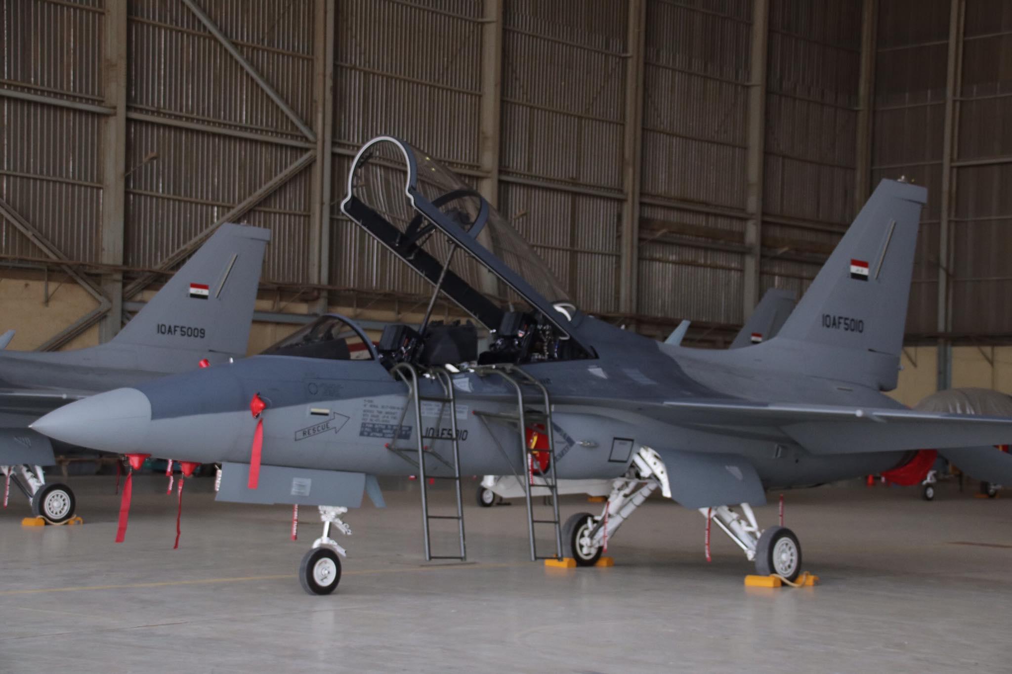ВВС Ирака получили очередные шесть учебно-боевых самолетов T-50IQ