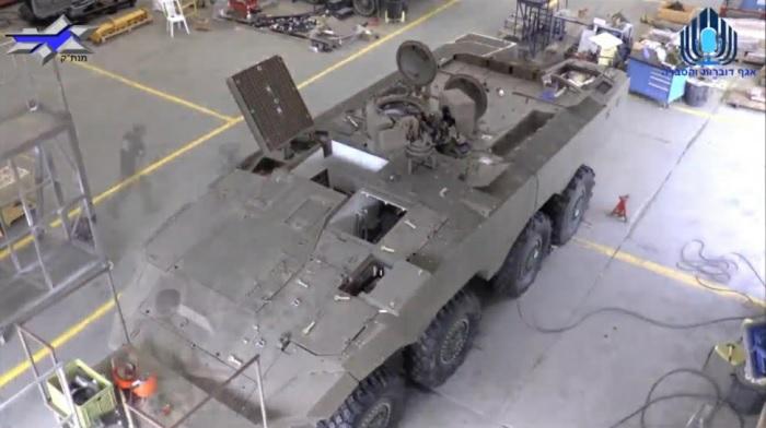 Построен второй прототип израильского колесного бронетранспортера Eitan