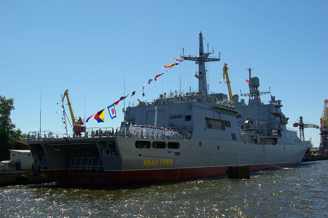 Большой десантный корабль «Иван Грен» передан ВМФ России