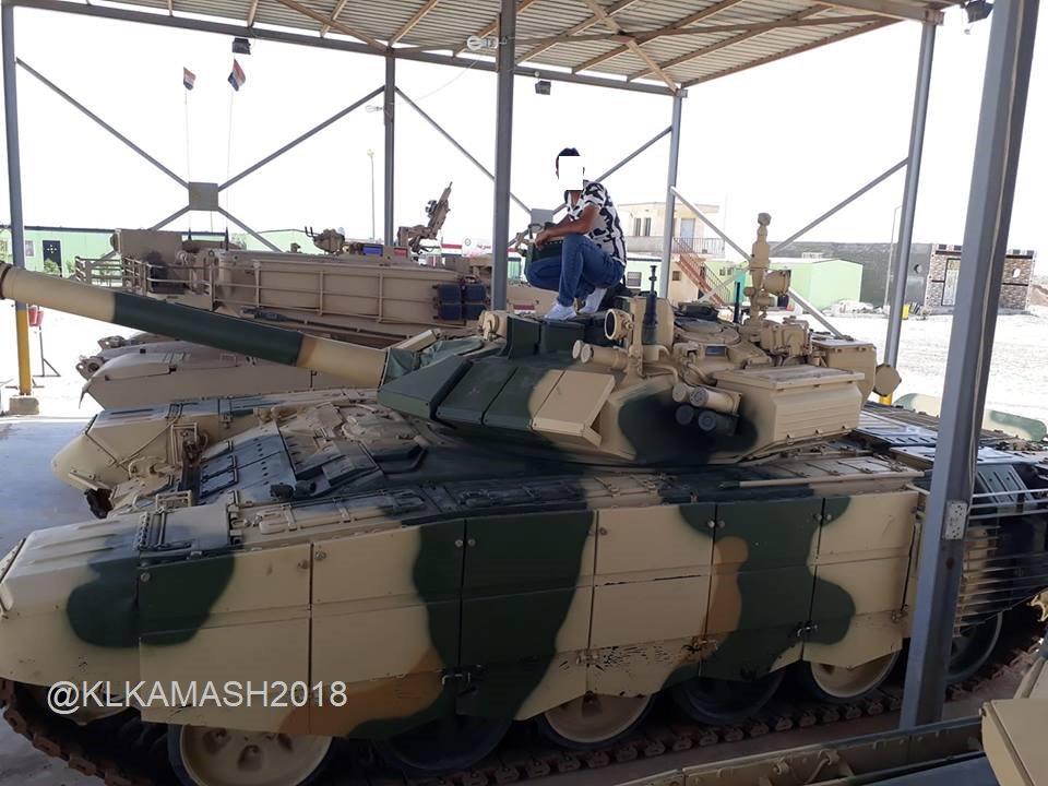 Иракские Т-90С и М1А1М Abrams вместе